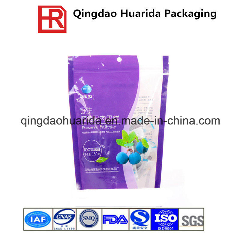 Logo Printed Stand up Plastic Food Packaging Bag for Powder pictures & photos
