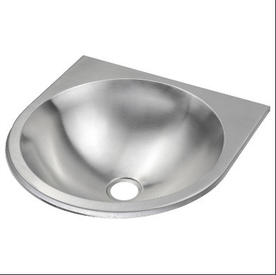 Wall Hung Wall Mounted Stainless Steel Hand Basin, Hand Sink (B04 9)