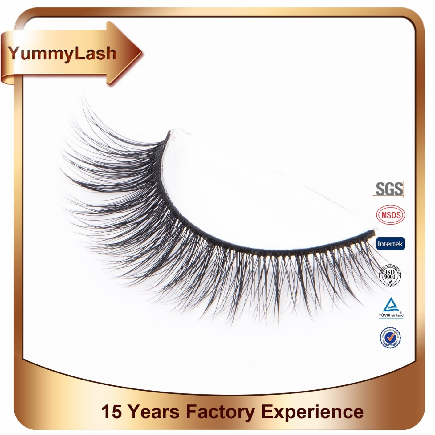 China High Quality Private Natural Mink Eyelash Extensions Supplies
