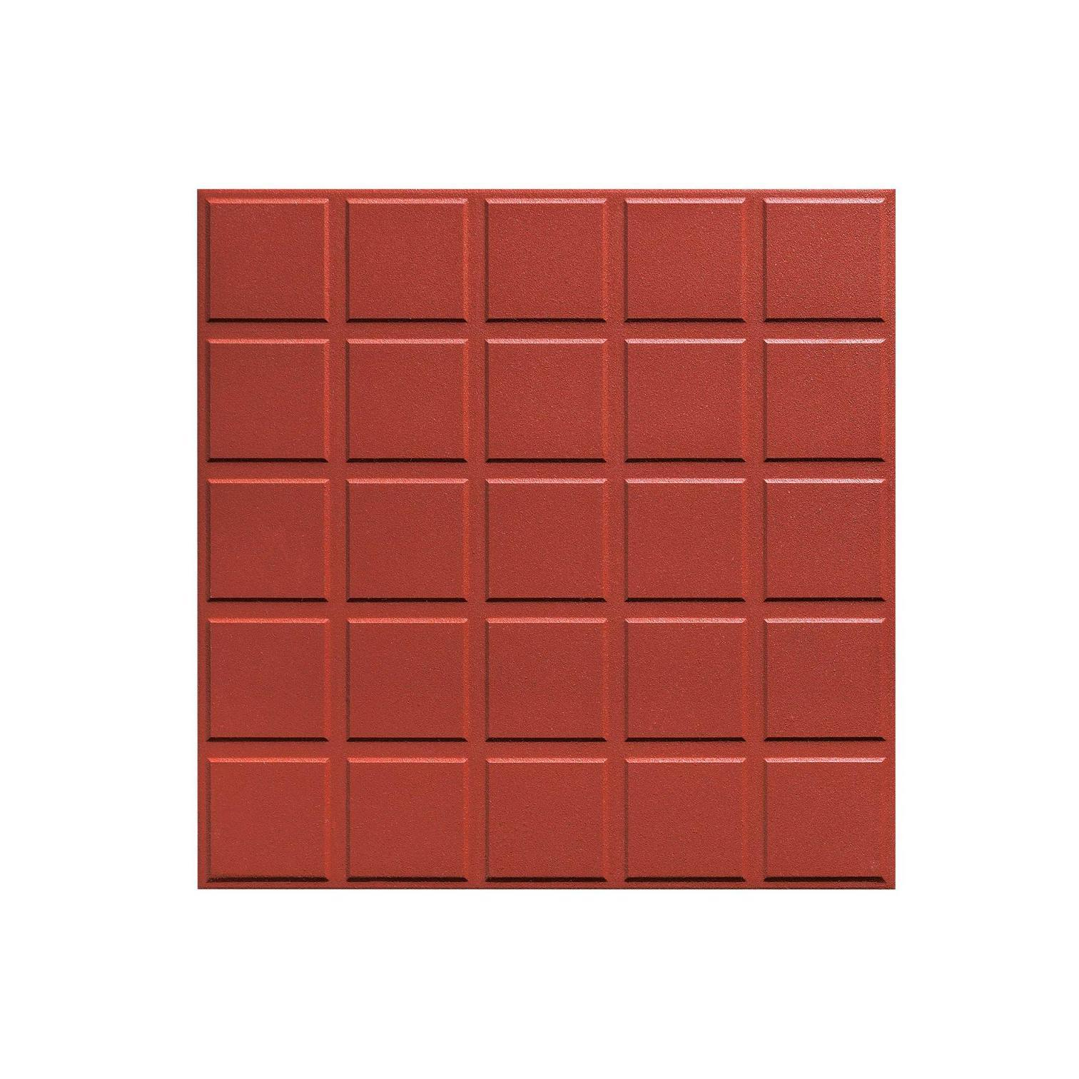 China Red Colour Outdoor Terracotta Clay Tile For Flooring