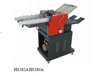 Paper Folder Machine with Criss-Cross Functions/ Folding Machine (HS382C)