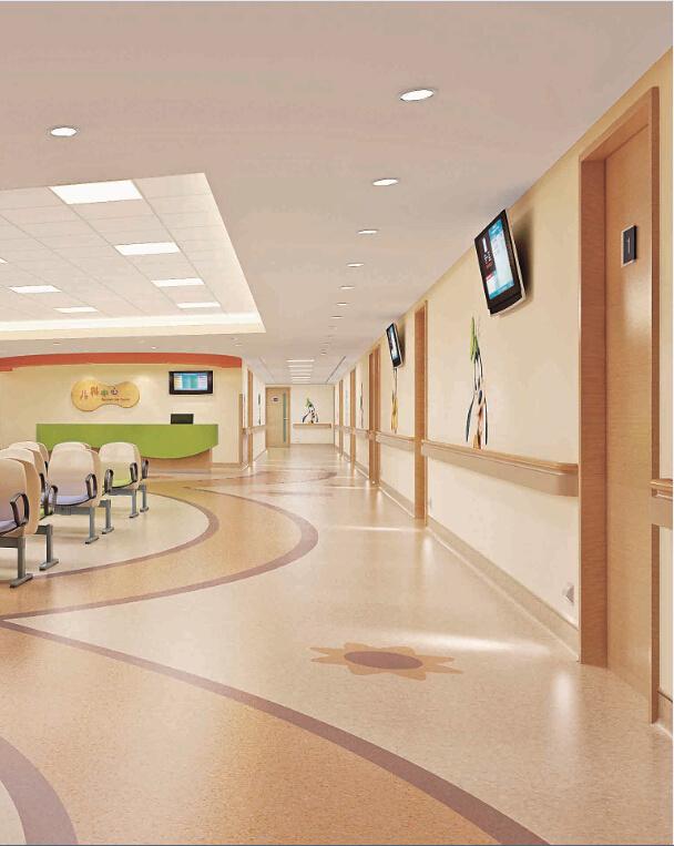 China Hospital Corridor Handrails Wall Handrail China