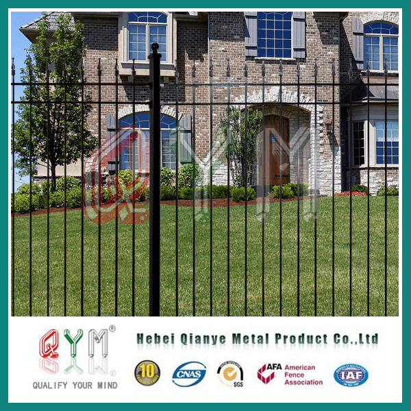 China Black Welded Wire Fence Mesh Panel /Metal Picket Welded Fence ...