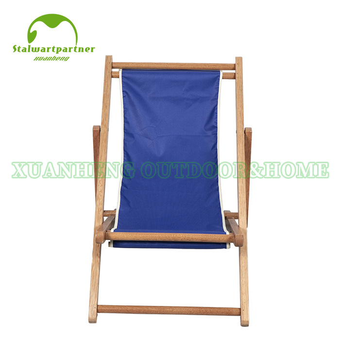 Folding Wood Canvas Relax Sling Chair