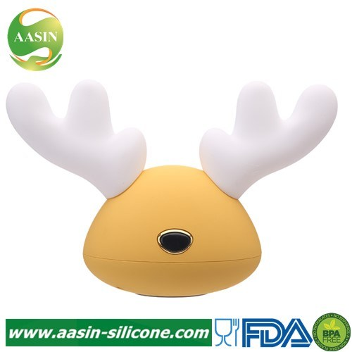 Soft Silicone Baby Nursery Lamp