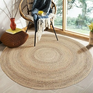 Hand Woven Natural Water Hyacinth Floor