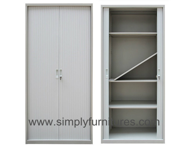 China 4 Layers Steel Tambour Cabinet Rolling Door Filing Cabinet