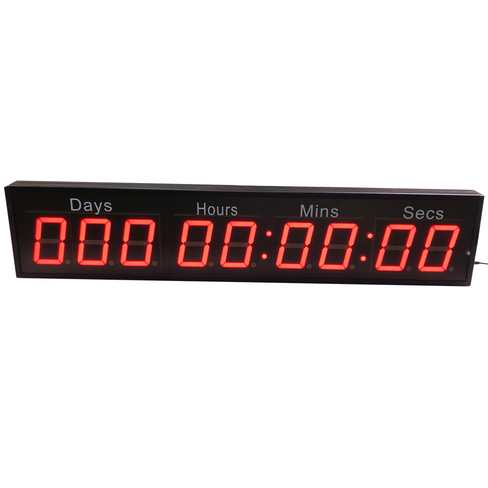 4 Inch 9 Digital 1000 Days Hours Minutes Seconds LED Countdown Timer Clock pictures & photos