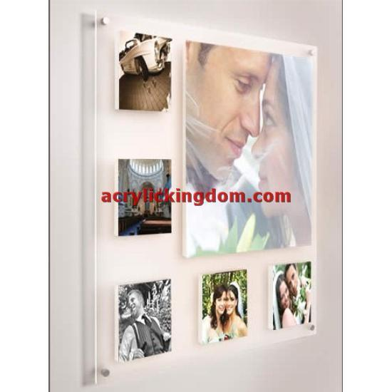 China Acrylic Wall Mount Frame Ak020 China Acrylic