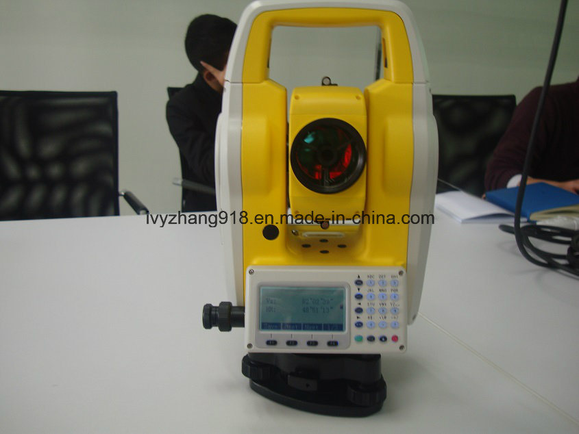 Total Station Refectorless 350m Cheaptotal Station Dual-Axis Compensation and Bluetooth Total Stations pictures & photos