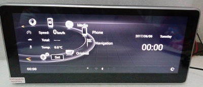 China Ouchuangbo 10 25 Inch Car Audio Stereo GPS Navi for