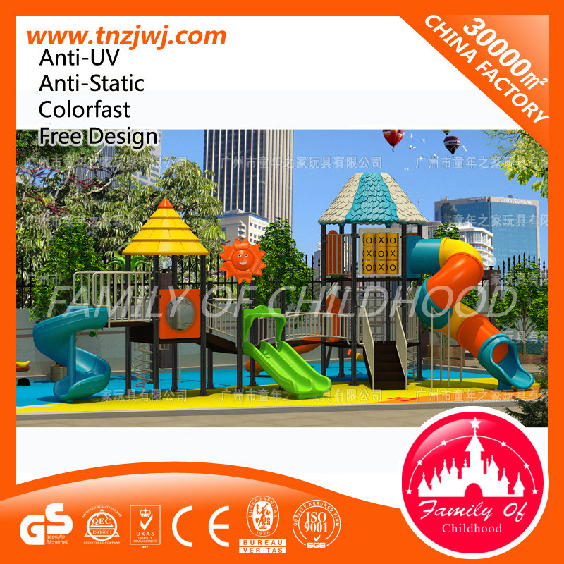Amusement Equipment Kids Outdoor Play House Playground Slide for Sale pictures & photos