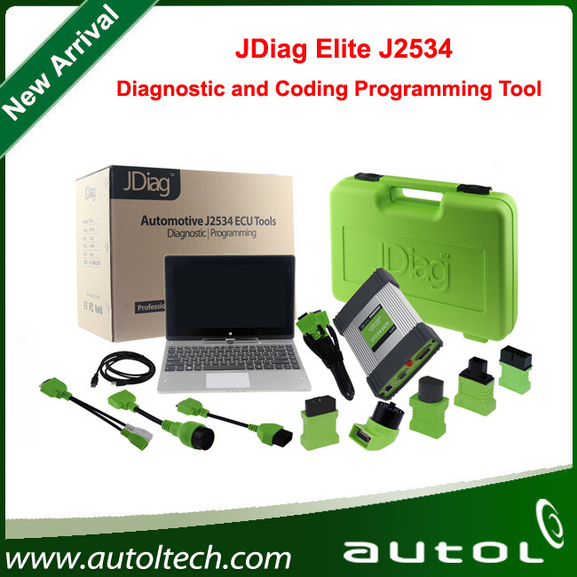 China 2016 New Arrival Jdiag Elite J2534 Diagnostic and