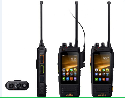 [Hot Item] Lte 4G Android IP67 Ru-Gged Smartphoneprofessional Walkie  Talkie6000mAh Battery IP67 Push to Talk Dmr Walkie Talkie Phone