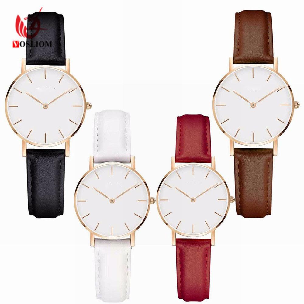 China Brand Quartz Watch Fashion Women Rose Gold Steel Bracelet