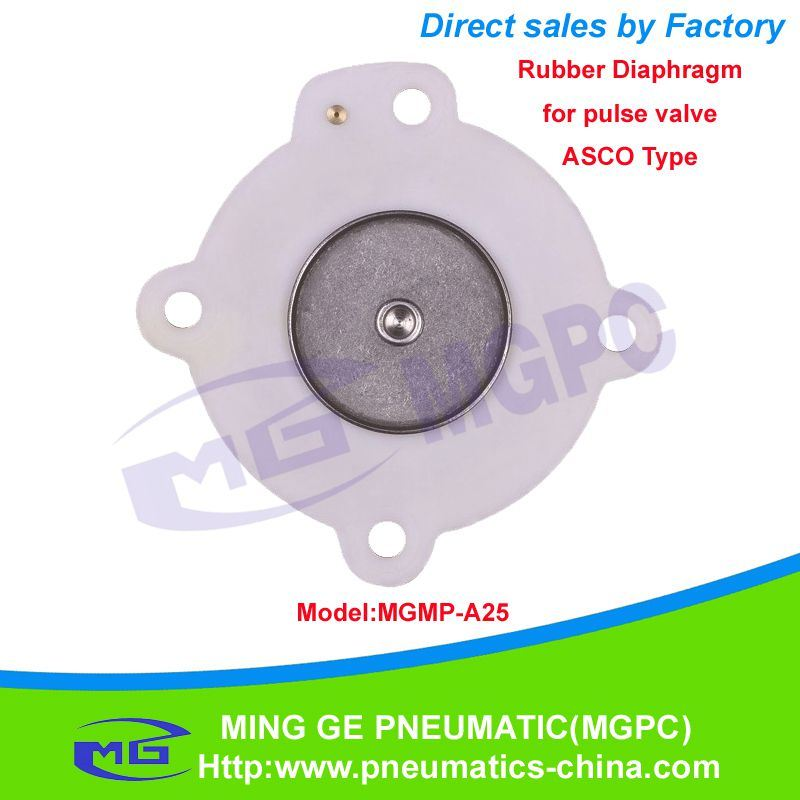 [Hot Item] Rubber Diaphragm for Pulse Valve (ASCO Type MGMP-A25)