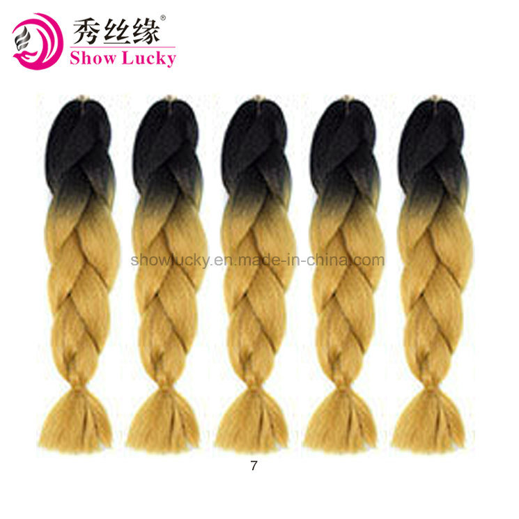 China Soft Crochet Braids Synthetic Hair Braiding Hair Senegalese