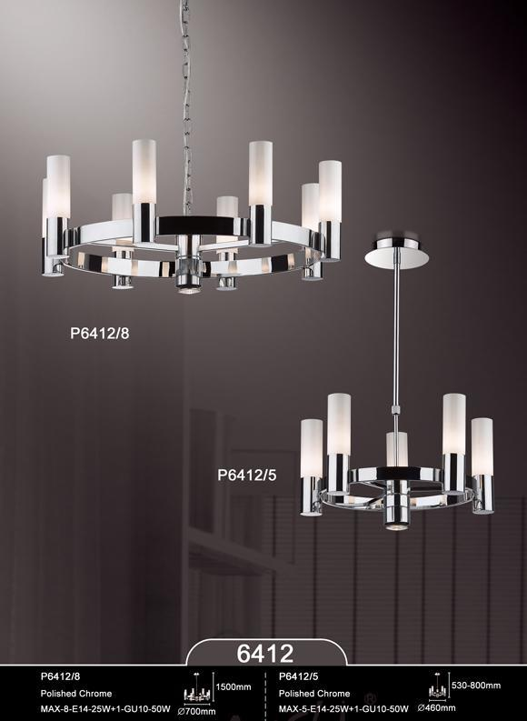 Luxury Fancy Design Contemporary Glass Pendant Lighting Fixtures (KA6412-16A) pictures & photos