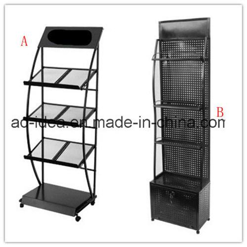 China Multi-Purpose Metal Grid Wire Rack & Mesh Basket Display Stand ...