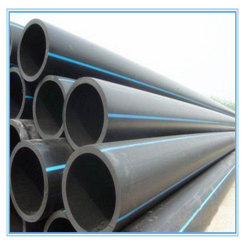 [Hot Item] High Press Resistant Black Plastic Water Supply HDPE Pipe