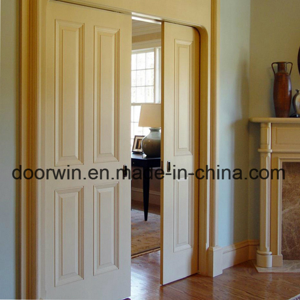 China American House Decoration All Wood Doors White Color Door