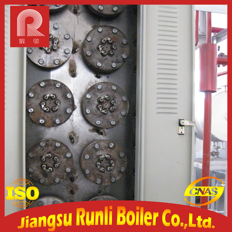 China Low Pressure Horizontal Water Tube Oil Boiler with Electric ...