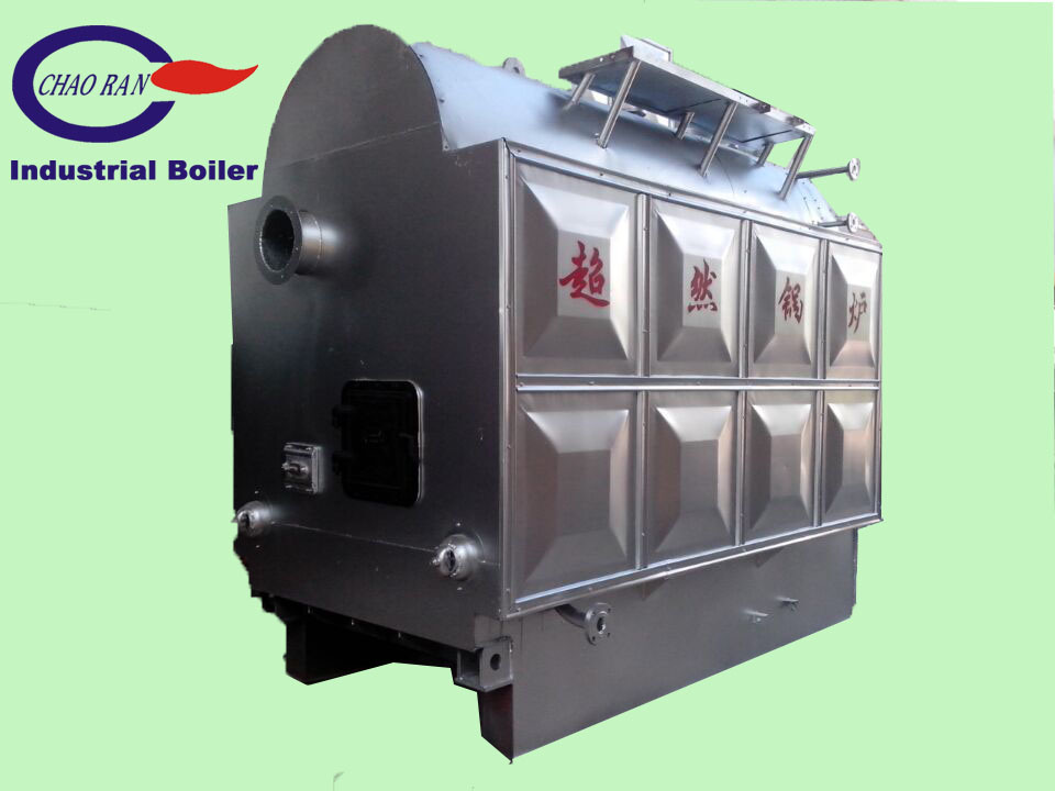 China Industrial Biomass Steam Boiler for Food Produce (DZG1-1.0-M ...