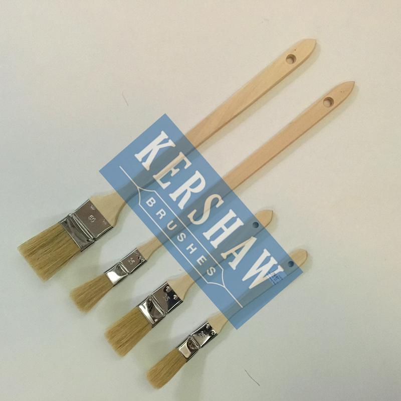 China Radiator Brush (paint brush pure white pig bristle with ...