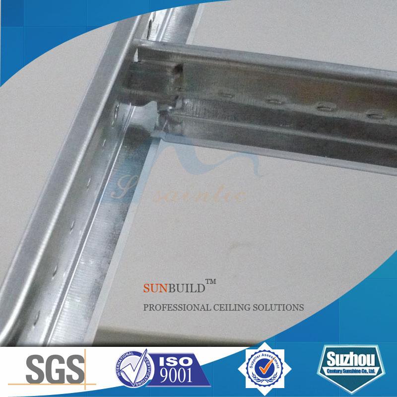 China Galvanized Steel T Grid Ceiling Joist Famous Sunshine Brand Grids