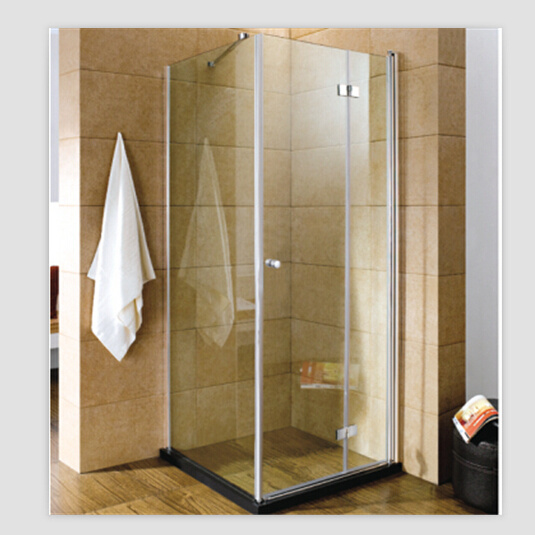 China Single Door Aluminum Tempered Glass Shower Enclosure - China ...