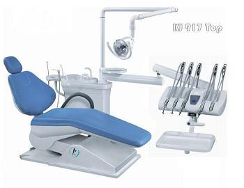 New Design Economic Dental Chair with Operation Lamp (Kj-917) pictures & photos