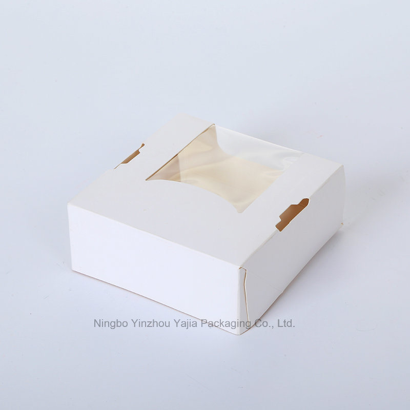 Disposable Paper Food Box Cake Sushi Container pictures & photos
