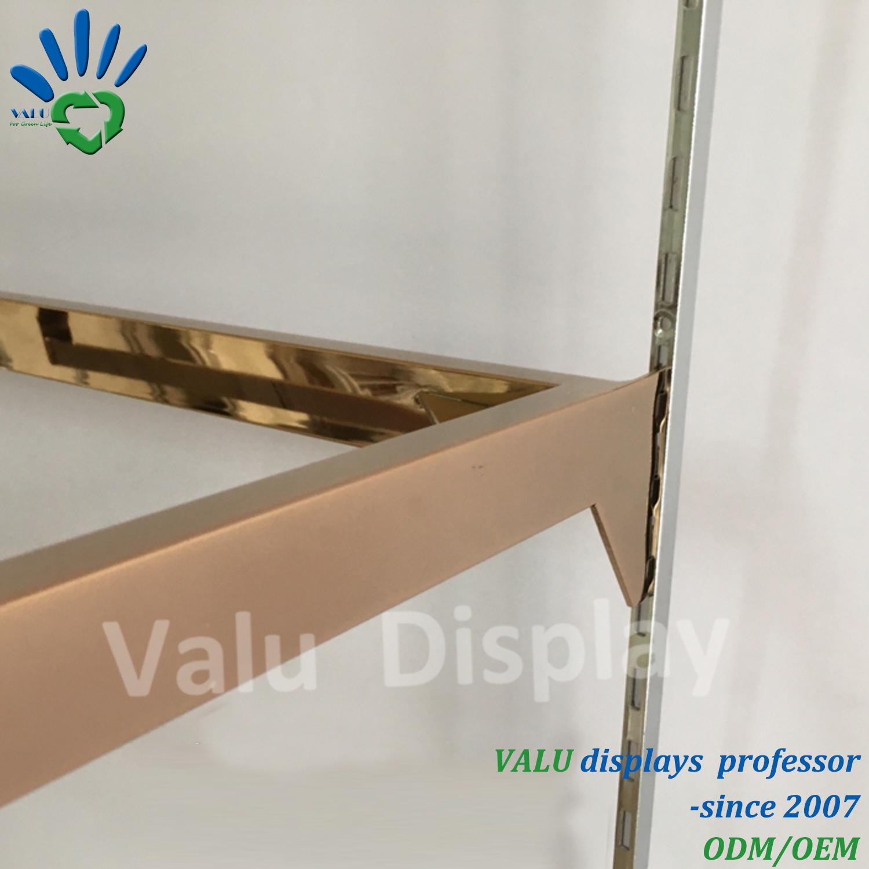 China Metal Shelf Bracket Hanging Shelf Support For Clothes