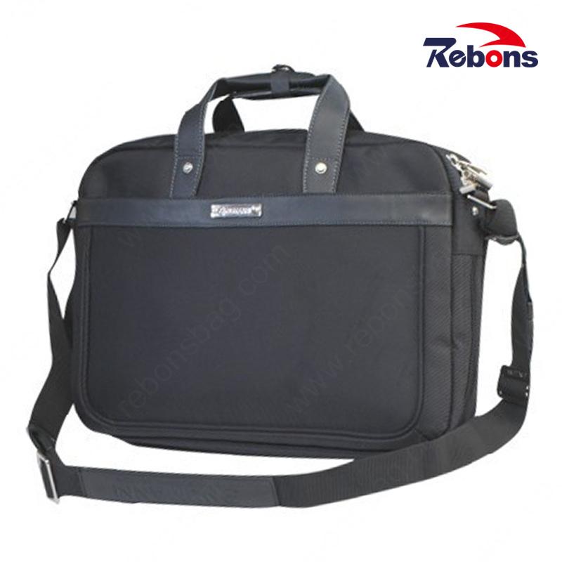 2f26af36ad71 [Hot Item] Black Oxford Fabric Men Office Business Bag Laptop Briefcase