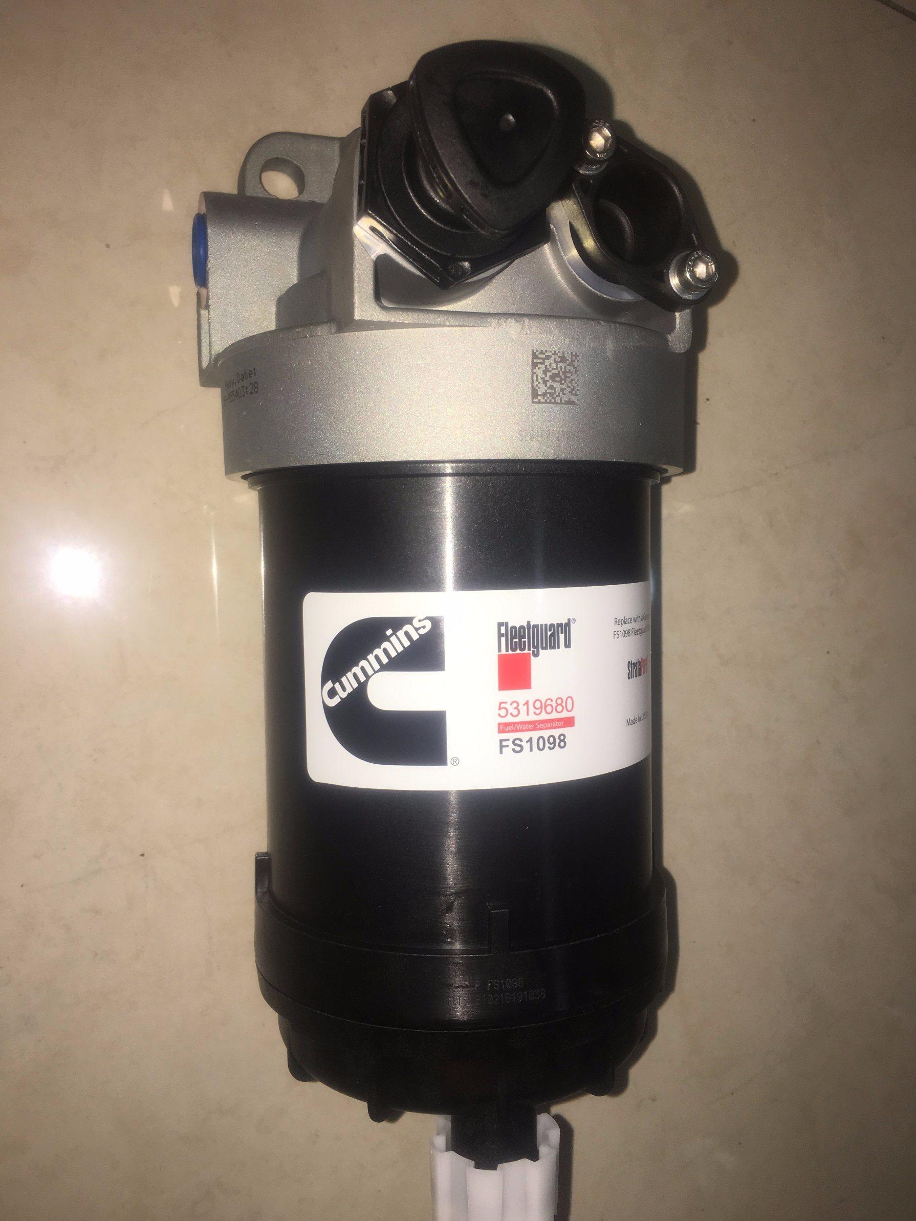China Cummins Bracket Fuel Filter Assy 5321059 For 6b Engine Photos