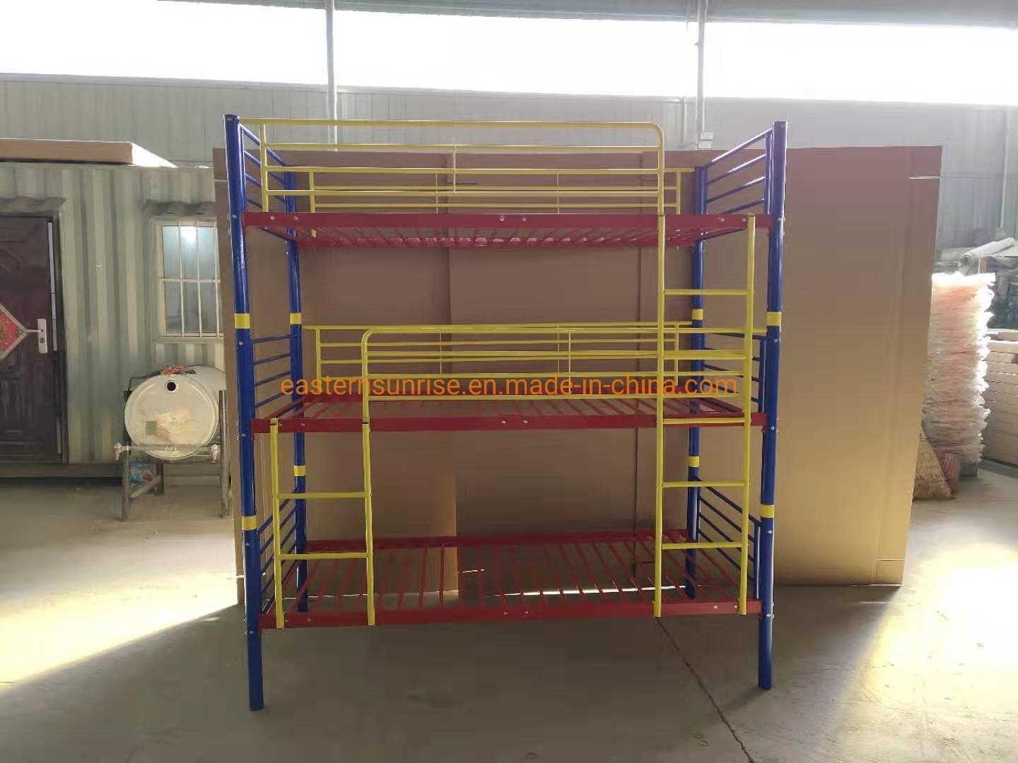 Picture of: China Living Room Furniture Set Metal Triple 3 Layers Bedroom Sets Bunk Beds China Metal Furniture Bunk Bed