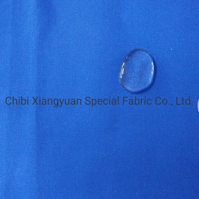 Flame Retardant &Water Oil-Resistance Fabric Safety Fabric for Protective Workwear pictures & photos