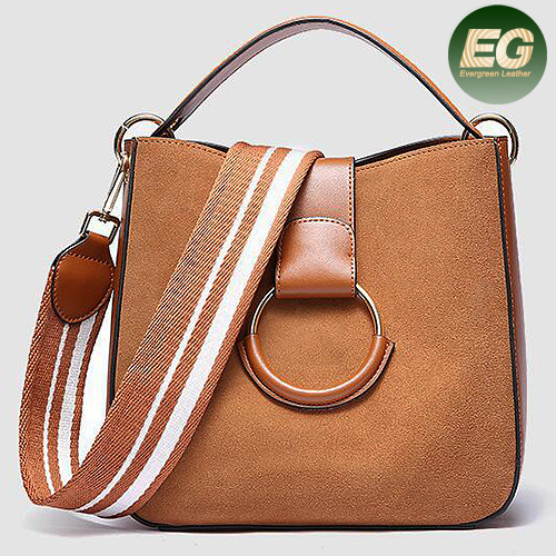 515a3f1c12b5a 2018 Brand Ladies Genuine Leather Handbags Newest Popular Women Shoulder  Bags Emg5332