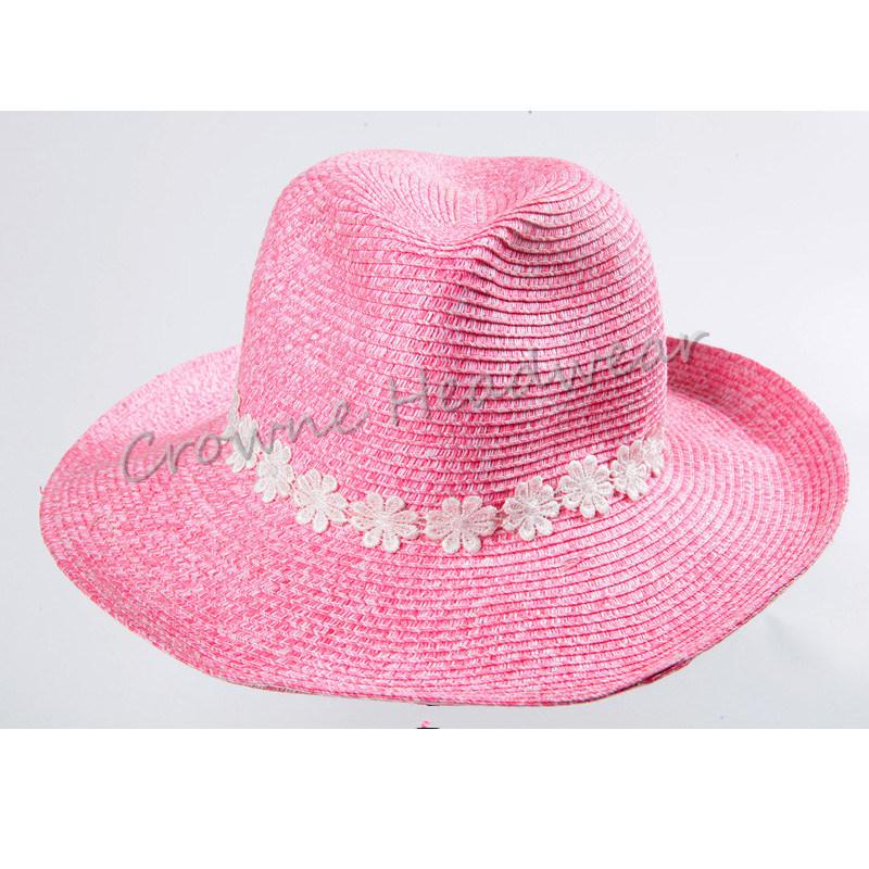 9ad2946c China Widebrim Lady Summer Hat Paper Straw Panama Bucket Hat Photos ...