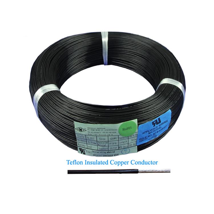 China Heat Resist AWG 20 24 PTFE Teflon Insulated UL Wire - China ...