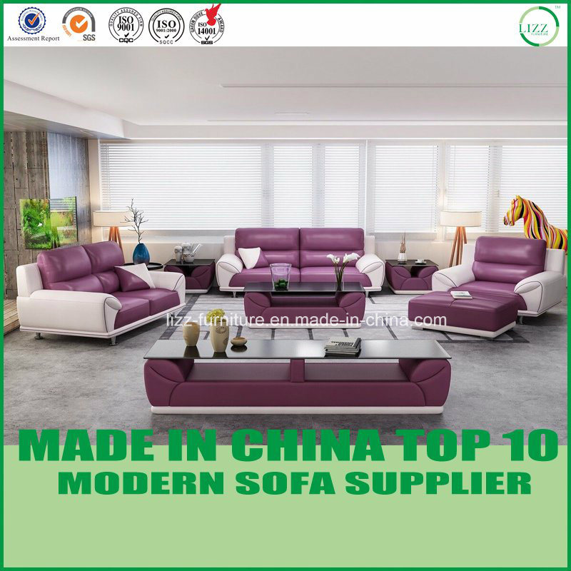 china contemporary miami living room furniture leather sectional
