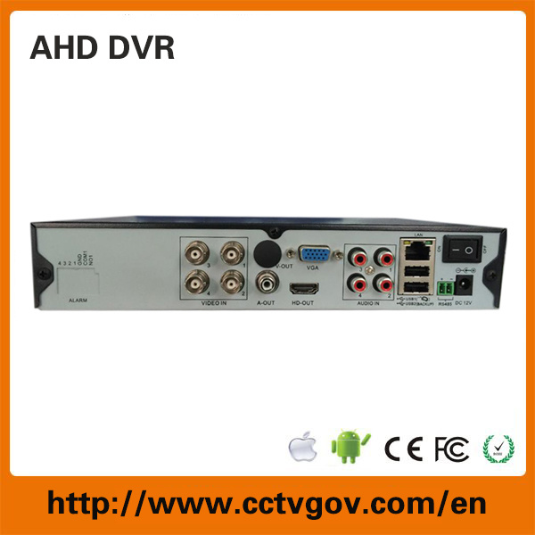 New Arrival IP/Analog/ Ahd Hybrid 4CH 720p Ahd DVR