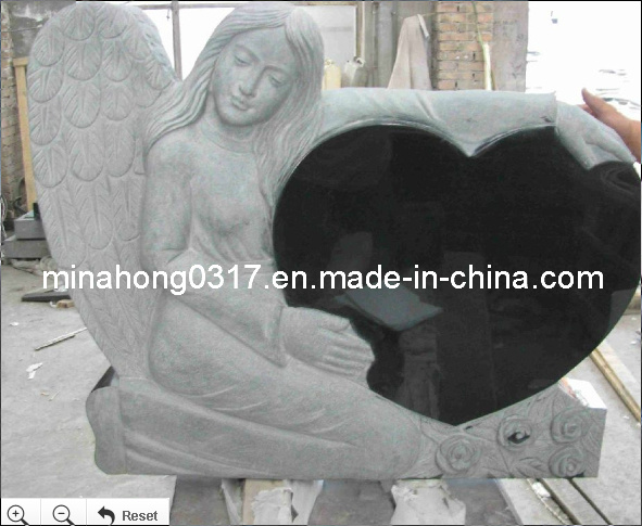Gravestone, Tombstone, Shanxi Black Tombstone, Headstone, Memorial pictures & photos