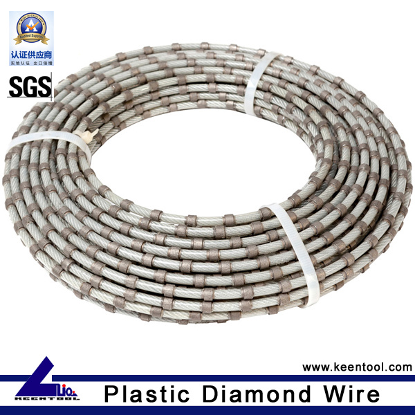 China Diamond Wire Saw for Granite Block Dressing Photos & Pictures ...
