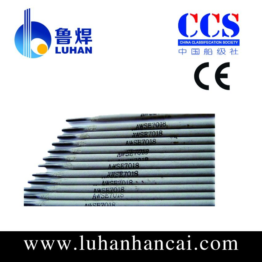 China Stable Arc Welding Electrode With Model E7018 Ce Certification