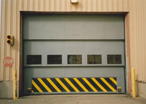 [Hot Item] Counter-Weight Lifting Industrial Door/ Vertical Lift  Counterweight Door