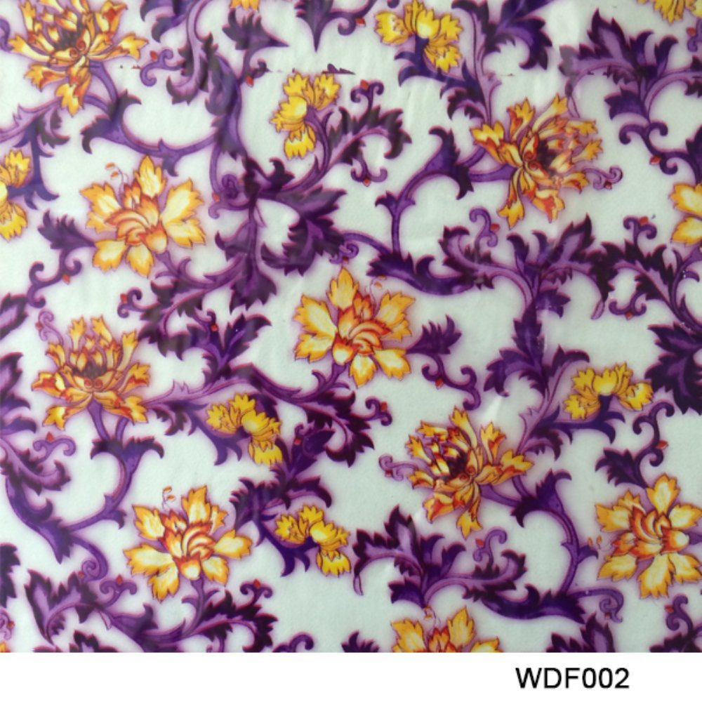 Kingtop 0.5m Width Flower Design Hydrographics Water Transfer Print Film Tshy875