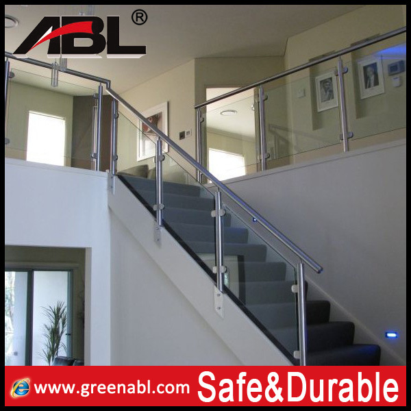 China Modern Design Stainless Steel Balcony Glass Railing China