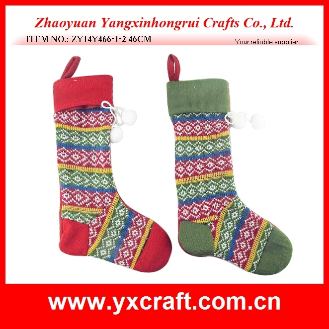 Christmas Decoration (ZY14Y464-1-2) Christmas Knitted Sock