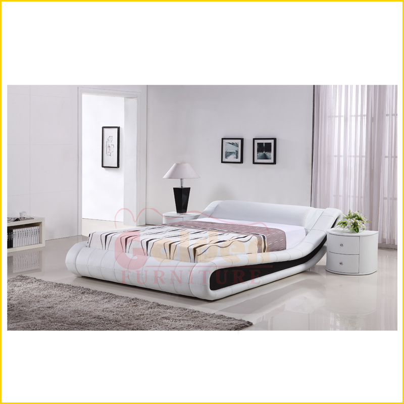 China Best Sale Soft Comfortable Classic Leather Bed - China Hot